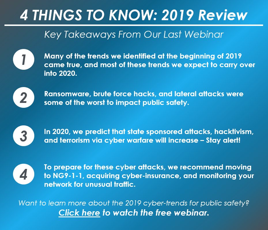 4 Things to Know - Jan 2020