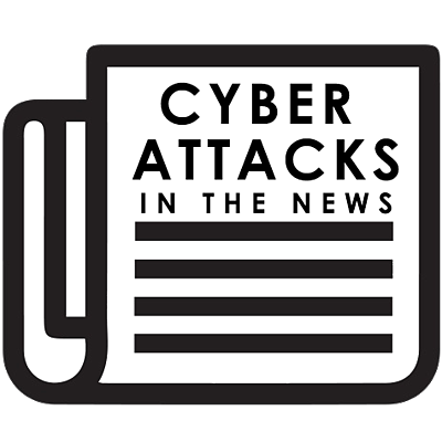 Cyber Attacks In The News - Icon