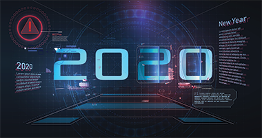 The year 2020 on a digital landscape