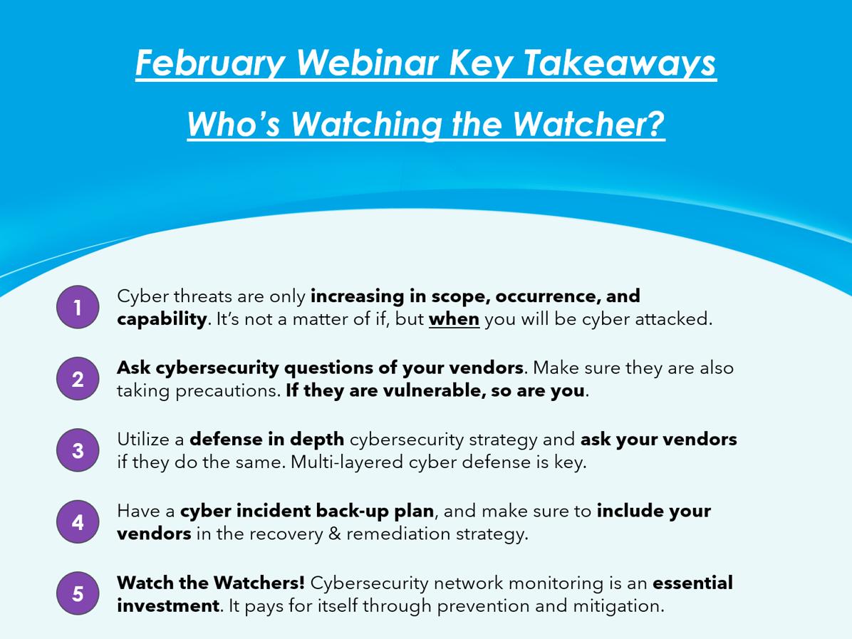 Key Takeaways - February 2021
