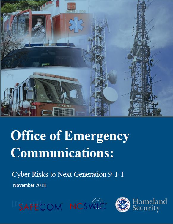 OEC - Cyber Risks to NG9-1-1 Image