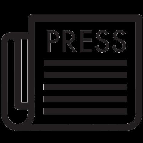 Press Icon Transparent
