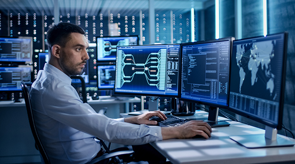 IT Department (Facing R)